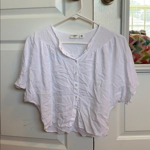 Girls white Cato blouse